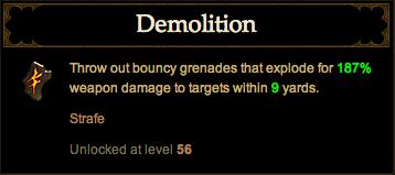 strafe demolition