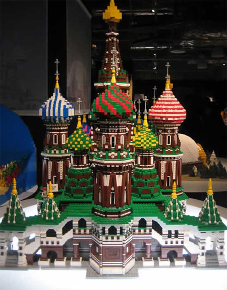 lego saint basil cathedral