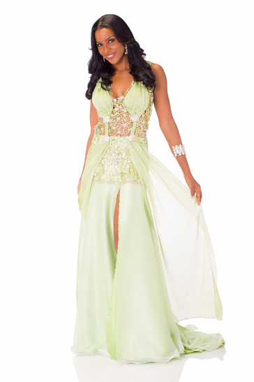 Evening Gown miss aruba 2013