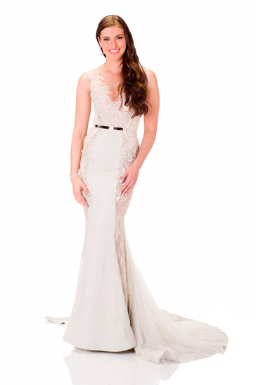 Evening Gown miss australia 2013