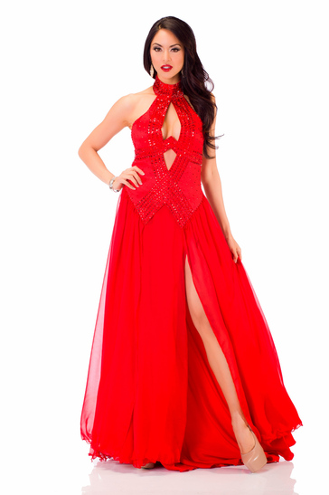 Evening Gown miss canada 2013