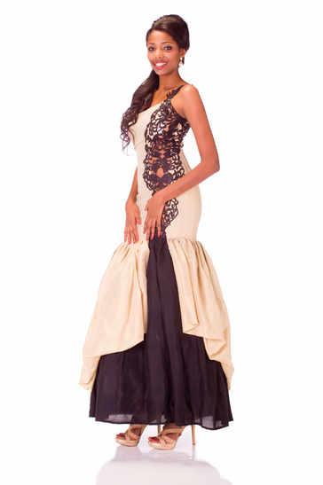 Evening Gown miss ethiopia 2013