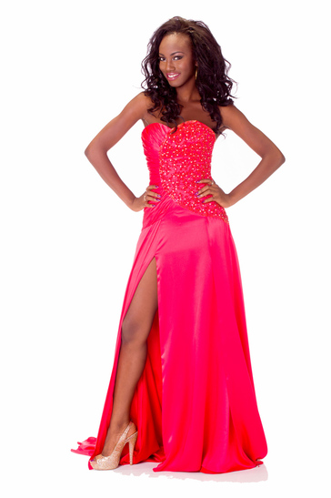 Evening Gown miss ghana 2013