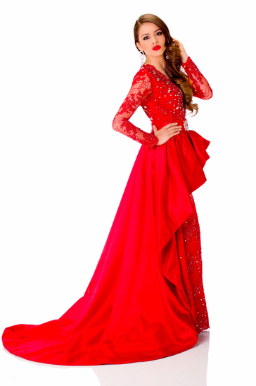 Evening Gown miss guatemala 2013