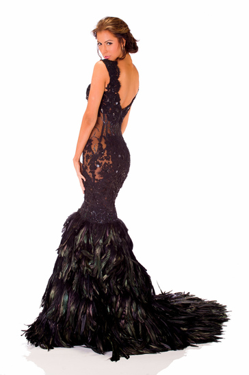 Evening Gown miss jamaica 2013