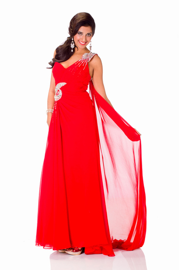 Evening Gown miss mauritius 2013