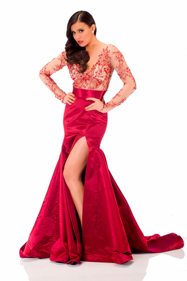 Evening Gown miss mexico 2013