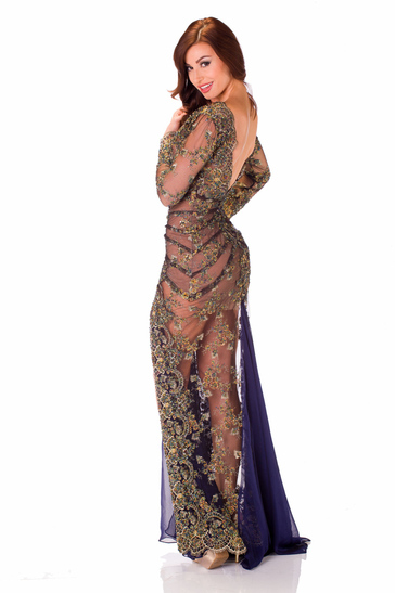 Evening Gown miss nicaragua 2013
