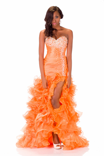 Evening Gown miss nigeria 2013
