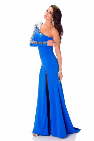 Evening Gown miss panama 2013