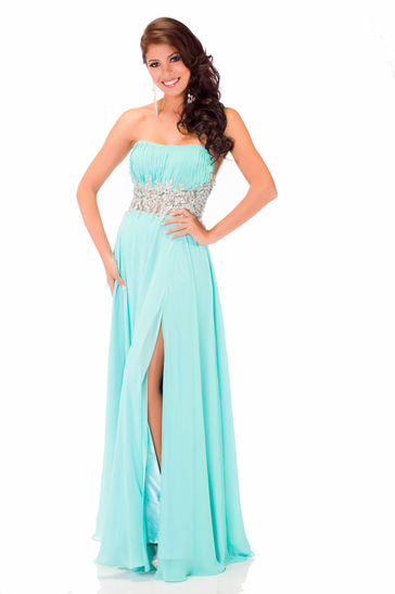 Evening Gown miss peru 2013