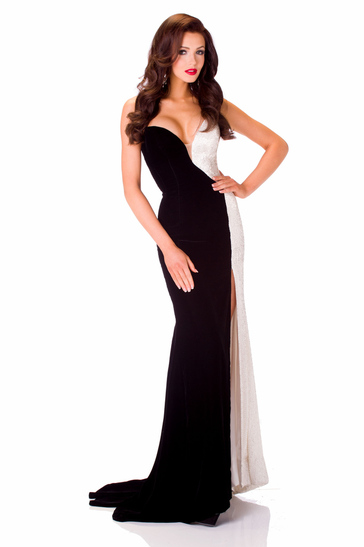 Evening Gown miss ukraine 2013