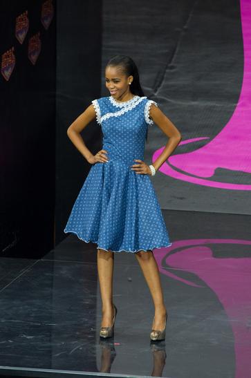 National Costume miss botswana 2013