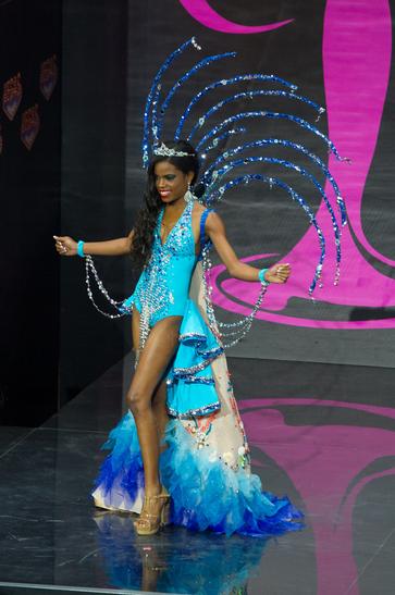National Costume miss british virgin island 2013