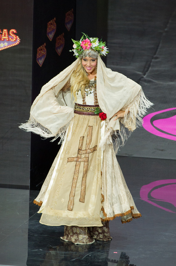 National Costume miss bulgaria 2013
