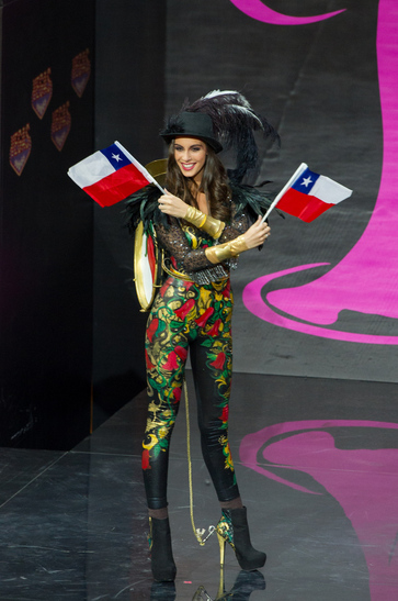National Costume miss chile 2013