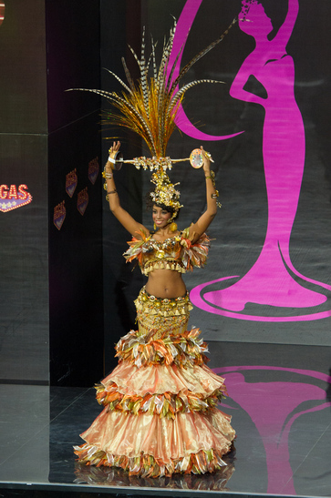 National Costume miss dominican republic 2013