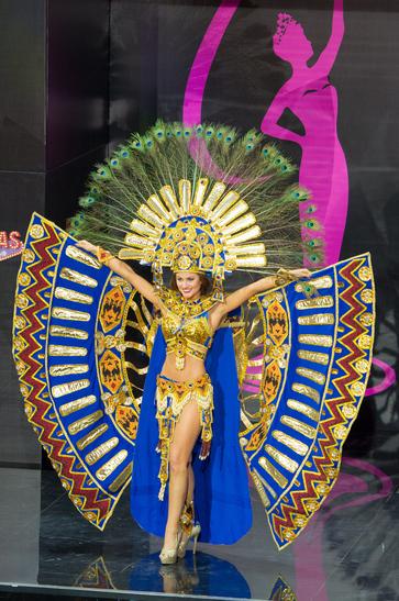 National Costume miss ecuador 2013