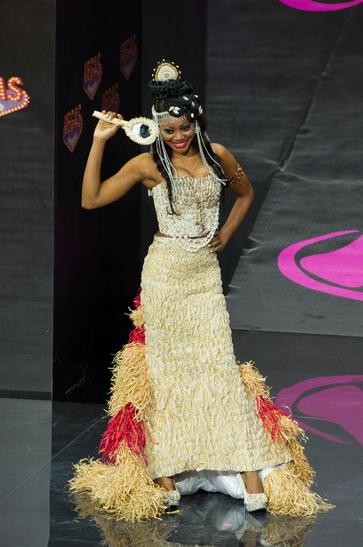 National Costume miss gabon 2013