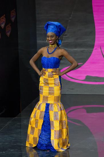 National Costume miss ghana 2013
