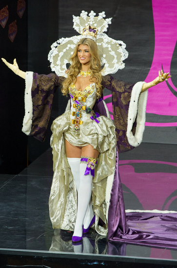 National Costume miss great britain 2013