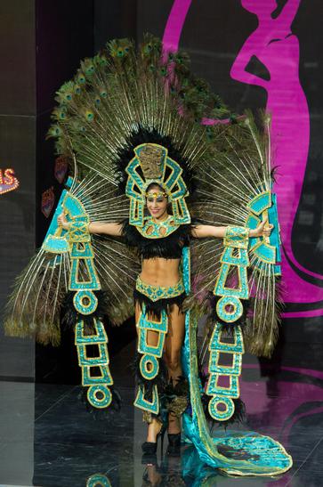 National Costume miss honduras 2013