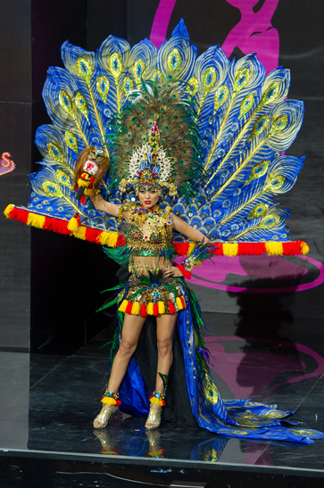 National Costume miss indonesia 2013
