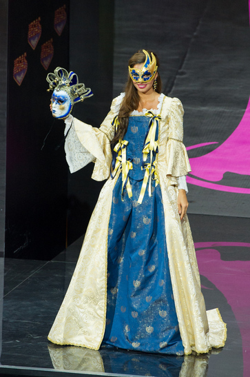 National Costume miss italy 2013