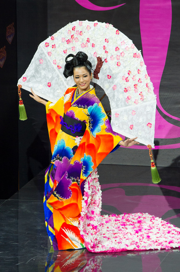 National Costume miss japan 2013
