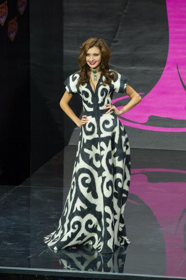 National Costume miss kazakhstan 2013
