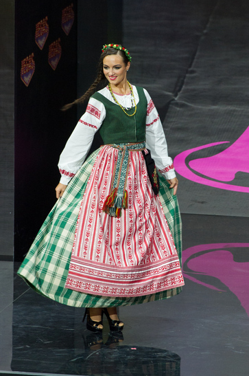 National Costume miss lebanon 2013