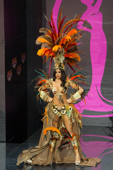 National Costume miss mexico 2013