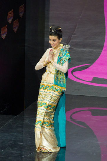 National Costume miss myanmar 2013