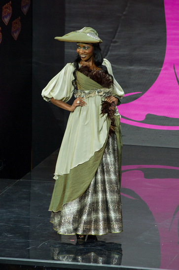 National Costume miss namibia 2013