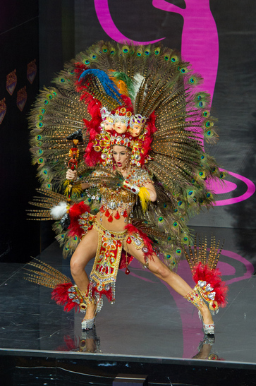 National Costume miss nicaragua 2013