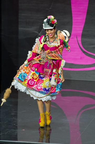 National Costume miss peru 2013