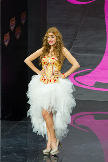 National Costume miss serbia 2013