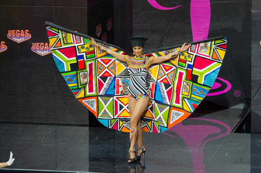 National Costume miss south africa 2013