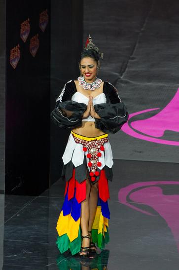National Costume miss sri langka 2013