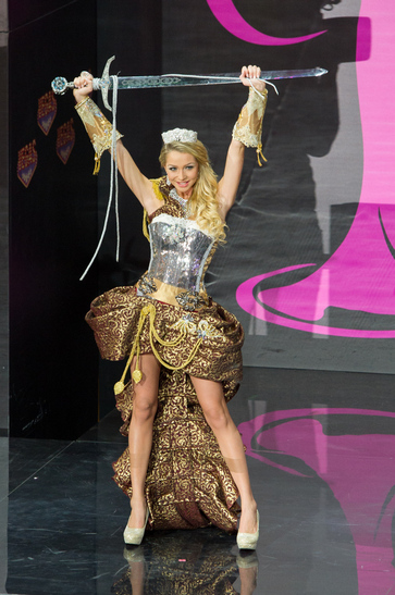 National Costume miss sweden 2013