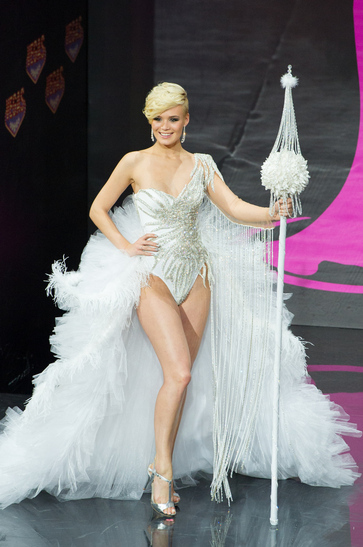 National Costume miss switzerland 2013
