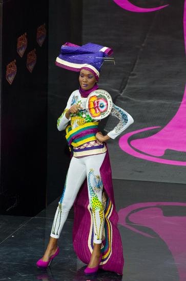 National Costume miss tanzania 2013