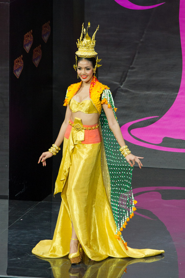 National Costume miss thailand 2013