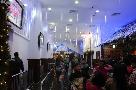 genting indoor theme park snow world