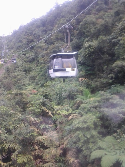 genting skyway cable car