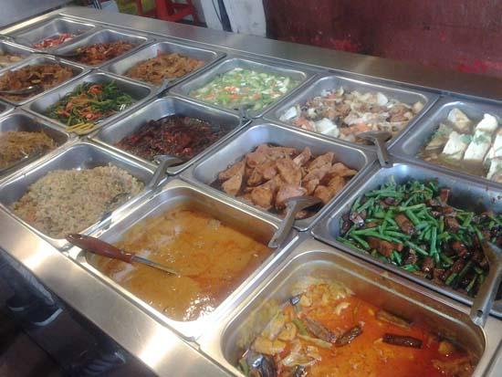 vegetarian food di petaling street