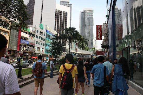 bukit bintang Jalan Jalan ke Kuala Lumpur, Malaysia (Hari ke 4)