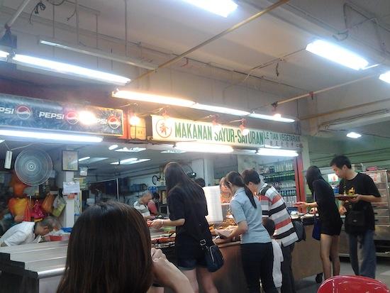 vegetarian di sungei wang plaza Jalan Jalan ke Kuala Lumpur, Malaysia (Hari ke 4)