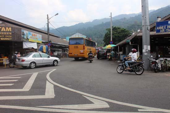 bus stop pasar air hitam