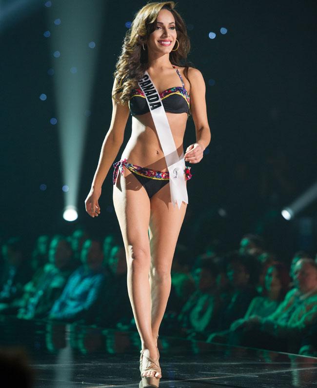 Miss Canada Paola Nunez
